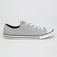 Converse Chuck Taylor Dainty Womens Shoes White/Black  In Sizes