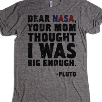Athletic Grey T-Shirt | Funny Astronomy Shirts