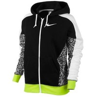 Nike Club FT AOP Full Zip Hoodie - Women's
