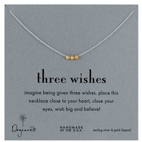 Women's Dogeared 'Reminder' Boxed Pendant Necklace