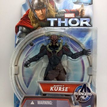 KURSE Action Figure Thor The Dark World MOC Adult Collector 3.75in 2013 NEW