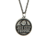 Disney Finding Nemo Keep Swimming Necklace