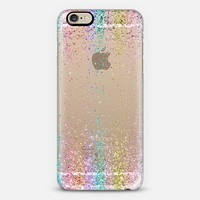 Rainbow Sparkly Glitter Burst iPhone 6 case by Organic Saturation | Casetify