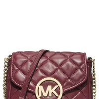 Women's MICHAEL Michael Kors 'Small Fulton' Quilted Crossbody Bag