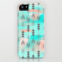 Watercolor Arrows iPhone Case by Sunkissed Laughter | Society6
