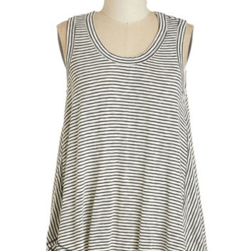 ModCloth Mid-length Sleeveless Start the Sway Right Top