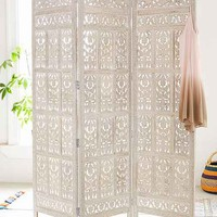 Amber Wooden Carved Screen-