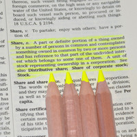 Eco Highlighters Yellow Pencils 4 Pack
