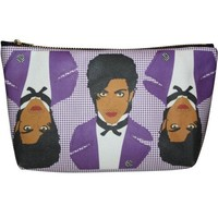 Prince Pop Zipper Pouch and Makeup Bag – Illustrated and Handmade in the USA