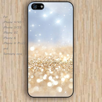 iPhone 6 case glitter golden iphone case,ipod case,samsung galaxy case available plastic rubber case waterproof B212