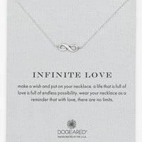 Women's Dogeared 'Reminder - Infinite Love' Boxed Pendant Necklace - Infinite
