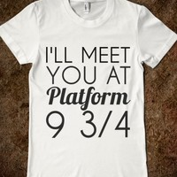 Supermarket: Platform 9 3/4 from Glamfoxx Shirts