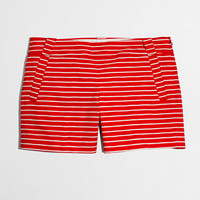 """Factory 5"""" printed stretch chino short - Shorts - FactoryWomen's New Arrivals - J.Crew Factory"""