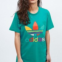 Adidas X Pharrell Supercolor Tee in Turquoise - Urban Outfitters