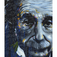 Stephen Fishwick 'Einstein' Poster
