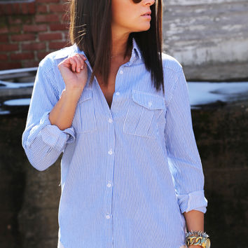 Fall In Line Button Up