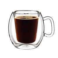 Luigi Bormioli Thermic 2-pc. Glass Coffee Mug Set