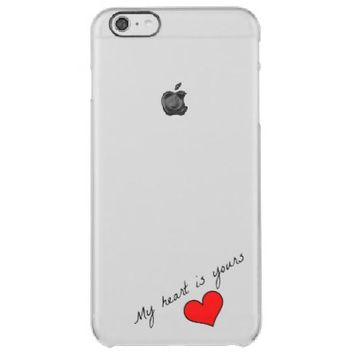 My Heart Is Yours iPhone 6 Plus Case