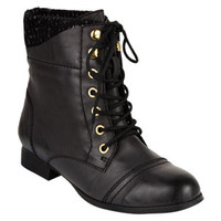 Jackie Lace-Up Boots