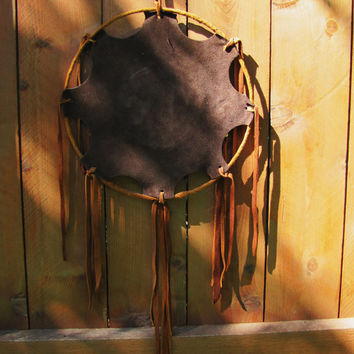 large vintage native american dream catcher wall hanging. native american decor. southwestern decor. vintage dreamcatcher. equestrian decor