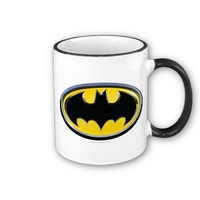 Batman Classic Logo Coffee Mugs from Zazzle.com