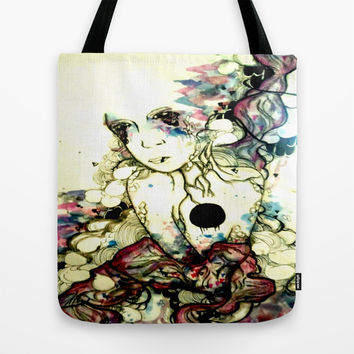 The Wait Tote Bag by Princess M