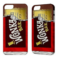 Willy Wonka iPhone 5 Case, iPhone 4 case, iPhone 4S case, iPhone 3G 3GS iPod Touch 5 4G Cover Phone Case Wonka Bar Cool Cases