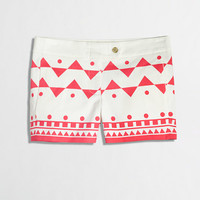 """Factory 3"""" printed stretch chino short - novelty - FactoryWomen's Shorts - J.Crew Factory"""