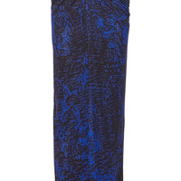 Helmut Lang Printed stretch-jersey maxi skirt – 60% at THE OUTNET.COM