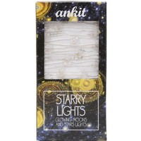 Ankit Starry Nights String Lights - Womens Scarves - White - One