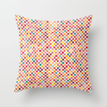Klee Pattern Throw Pillow by Timone