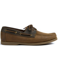 Pescador Boat Shoe Oak & Steel