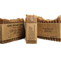Natural Soap Beer Soap Coffee Stout Beer Soap for Men Beer Lover Gifts Natural Soap