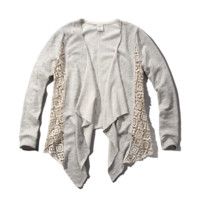 Lace Nonclosure Cardigan