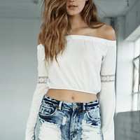 Bullhead Denim Co High Waisted Ripped & Destroyed Cut-off Mom Shorts at PacSun.com
