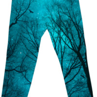 """Stars Cannot Shine Without Darkness"" Printed Cotton Pants (Limited Ed"