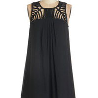 ModCloth LBD Mid-length Sleeveless Shift Party Prep Dress