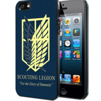 Attack on titan military Logo Samsung Galaxy S3 S4 S5 Note 3 case, iPhone 4 4S 5 5s 5c case, iPod Touch 4 5 case