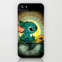 Swimming Stitch iPhone & iPod Case by Alohalani