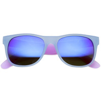 Retro Festival Summer Horned Rim Revo Lens Sunglasses 9585