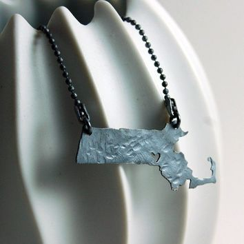 Customizable Pendant Your State or Province or Country by MarKhed
