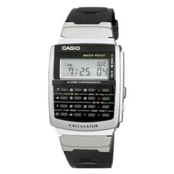 Casio Men's Calculator Watch - Black - CA56-1