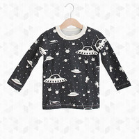 Outer Space Long Sleeve Shirt