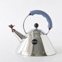 Brand New Alessi  Michael Graves Kettle with Small Bird Shaped Whistle