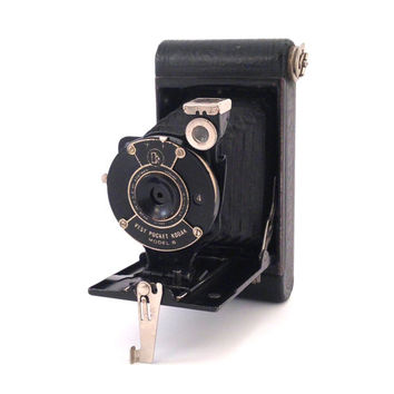 Vintage 1930s Vest Pocket Kodak Model B Folding Camera
