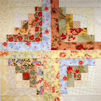 Quilt Blocks French Country Log Cabin