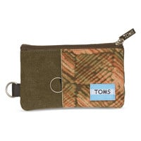 Brown Geo Mix Peninsula Passport Holder | TOMS