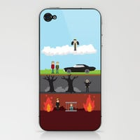 Supernatural - From Heaven and Hell iPhone & iPod Skin by natabraska | Society6