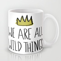 Wild Things Mug by Leah Flores