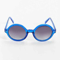 Translucent Round Sunglasses-